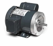 G576, 1/3 Hp, 1200 Rpm, 56C FR, 115/208-230 Vac, 1 PH, TEFC